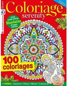 Coloriage Serenity 08 - 100 coloriages + votre cahier spécial Mandalas