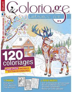 Coloriage Ambiance Zen 09 - Cahier spécial Animaux extraordinaires
