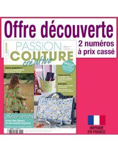 Passion Couture créative - Découverte 2 numéros
