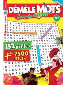 Démêle Mots Coup de cœur 3 - Thèmes météo, magie, maison, mythologie, Espagne, musique