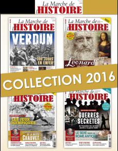 Collection 2016 complète - La Marche de l'Histoire : 4 numéros collectors