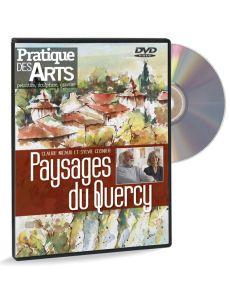 Paysages du Quercy - Aquarelle, gouache – DVD