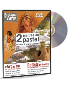 DVD Deux Maîtres du pastel révèlent leurs secrets - Carvin et Peyrouny