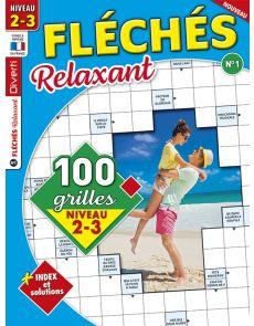 Magazine Fléchés Relaxant 01 - 100 grilles Niveau 2-3