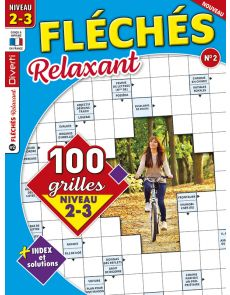 Magazine Fléchés Relaxant 02 - 100 grilles Niveau 2-3