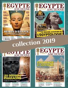 Collection 2019 complète - Égypte Ancienne : 4 numéros