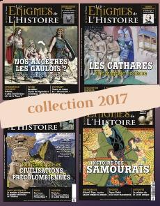 Collection 2017 - Enigmes de l'Histoire : 4 numéros collector