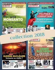Collection 2018 complète - Dossiers Secrets : 4 numéros collectors