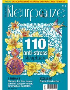 Kleurpauze N°1 - 110 anti-stress kleurplaten