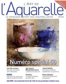 L'Art de l'Aquarelle 50 - Numéro spécial anniversaire !
