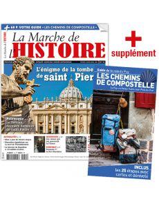La Marche de l'Histoire n°12 + le guide des chemins de Compostelle