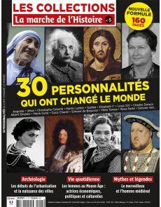 Les Collections de La Marche de l'Histoire 5 - 30 Personnalités qui ont changé le monde