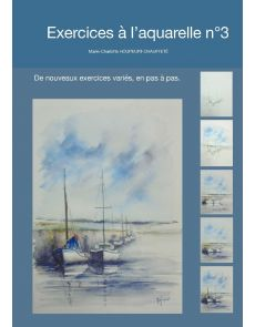 Exercices à l'aquarelle n°3 - Marie-Charlotte Houpeurt-Chauffeté