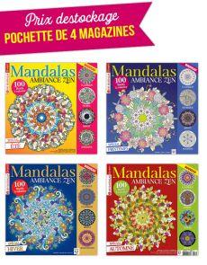 Collection complète 2018 MANDALAS ZEN - 4 magazines