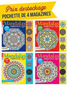 Collection complète 2019 MANDALAS ZEN - 4 magazines