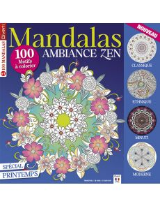 Mandalas Zen 1 - Spécial Printemps