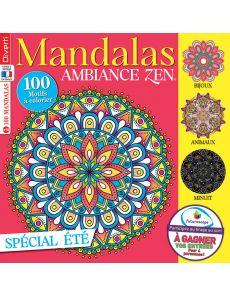 Mandalas Zen 10 - Spécial coloriages d'été