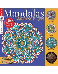 100 dessins à colorier - Mandalas Zen 12