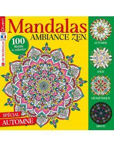 Mandalas Zen 11 - Spécial coloriages Automne