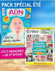 SPÉCIAL ÉTÉ DIY : 2 magazines de loisirs créatifs + 1 revue offerte