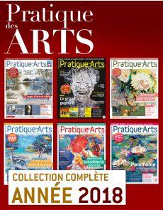 Collection Pratique des Arts 2018 : 6 numéros collectors