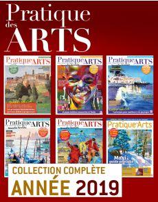 Collection Pratique des Arts 2019 : 6 numéros collectors
