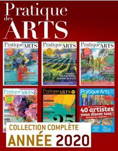 Collection Pratique des Arts 2020 : 6 numéros collectors