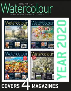 4 Magazines The Art of Watercolour - Discount Collection YEAR 2020