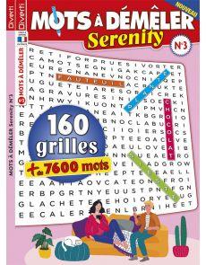 160 grilles de Mots à Démêler Serenity 3