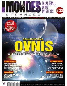 Observations OVNIS et rencontres du troisème type - Mondes Etranges n°33