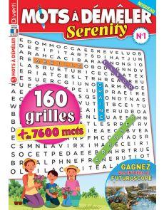 160 grilles de Mots à Démêler Serenity n.1