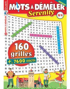 160 grilles de Mots à Démêler Serenity 4