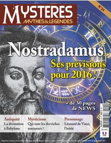 Mystères Mythes et legendes n°24 - Nostradamus
