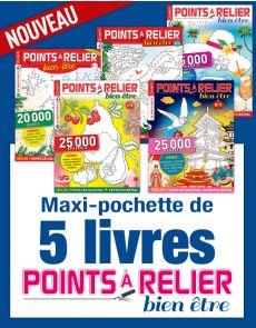 Collection 2019 complète - POINTS À RELIER Bien-être 5 magazines