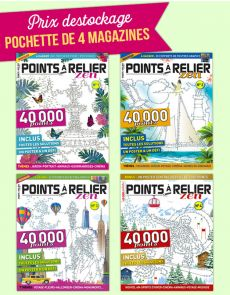 Collection 2017 complète - POINTS À RELIER Zen 4 magazines