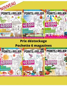Collection 2018 complète - POINTS À RELIER Zen 6 magazines
