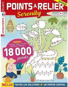 Points à Relier Serenity 3 - Thèmes plantes, incas, Alsace, zodiaque, animaux...