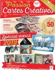 Je crée mes cartes de vœux 2019 - Passion Cartes Créatives hors-série numéro 11