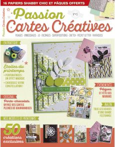 Passion Cartes créatives 45 - Pliages, embossages, superpositions, sketch…