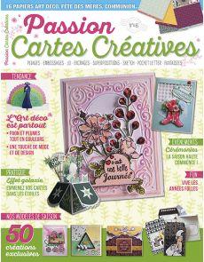 Passion Cartes Créatives 46 - Vos modèles de saison : cérémonies, art déco, années folles...