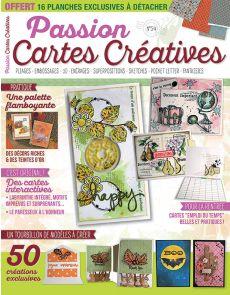 Passion Cartes Créatives 54 - Un tourbillon de modèles à créer