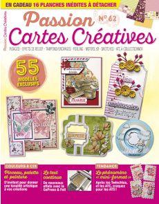 Passion Cartes Créatives 62 - En CADEAU 16 planches à détacher