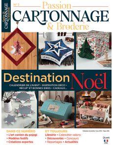 Passion Cartonnage et Broderie 3 - Spécial Noël