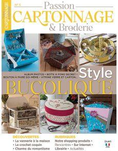 Des créations au style bucolique - Passion Cartonnage et Broderie n.5