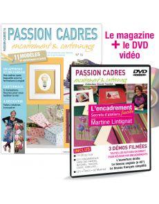 Passion Cadres n°16 + DVD encadrement facile