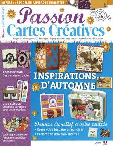 Passion Cartes Créatives n°36 - Inspirations d'automne