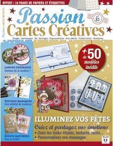Passion Cartes Créatives n°37 - Illuminez vos fêtes