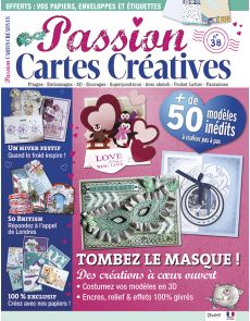Passion Cartes Créatives n°38