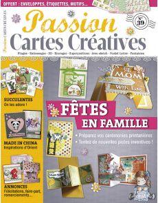 Passion Cartes Créatives n°39 - Vos cartes pour les fêtes de famille