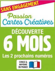Passion Cartes Créatives - Découverte 2 numéros